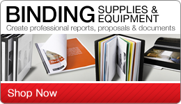 Binding Supplies & Equipment