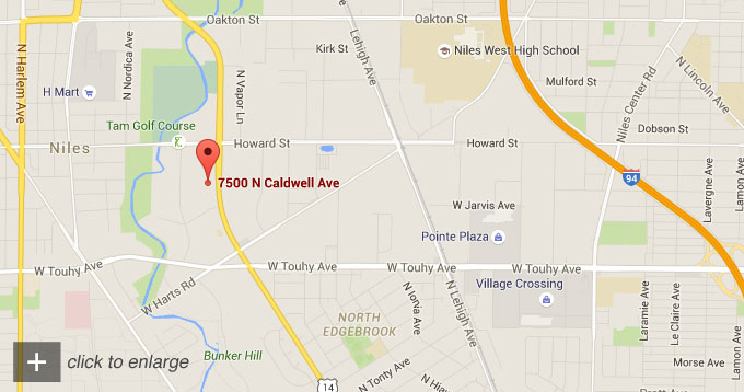 7500 N. Caldwell Avenue, Niles IL 60714