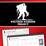 At-A-Glance Wounded Warriors 2014 Calendars
