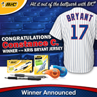 BIC Jersey Winner Announced