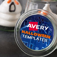 Avery Halloween Templates