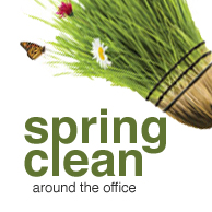 Spring Clean Around The Office
