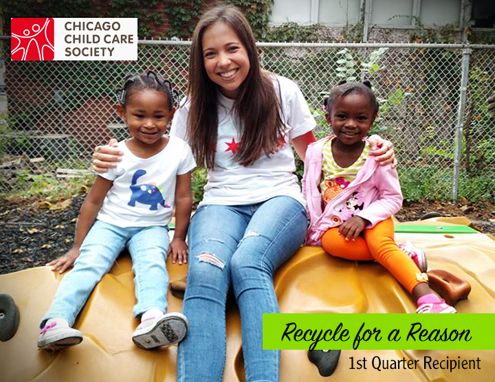 Recycle for a Reason: Chicago Child Care Society