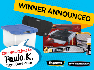 Fellowes Prize Pack Winner