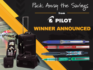 Pilot 3-Piece Luggage Set Giveaway
