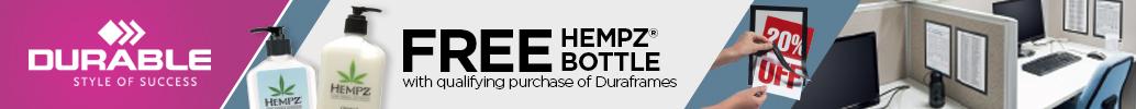 Durable Hempz Bottle