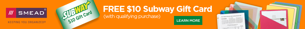 Smead Subway Gift Card Offer