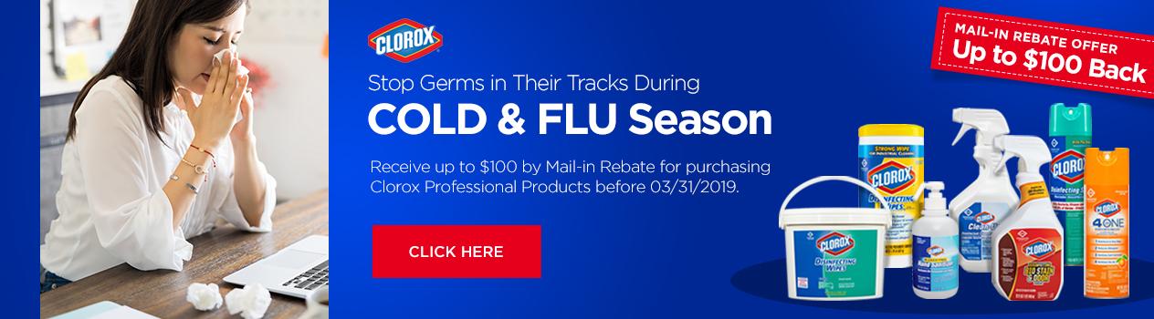 Clorox Mail-in Rebate Offer