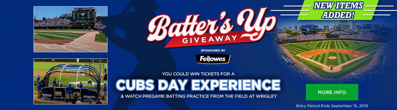 Fellowes Batter's Up Giveaway