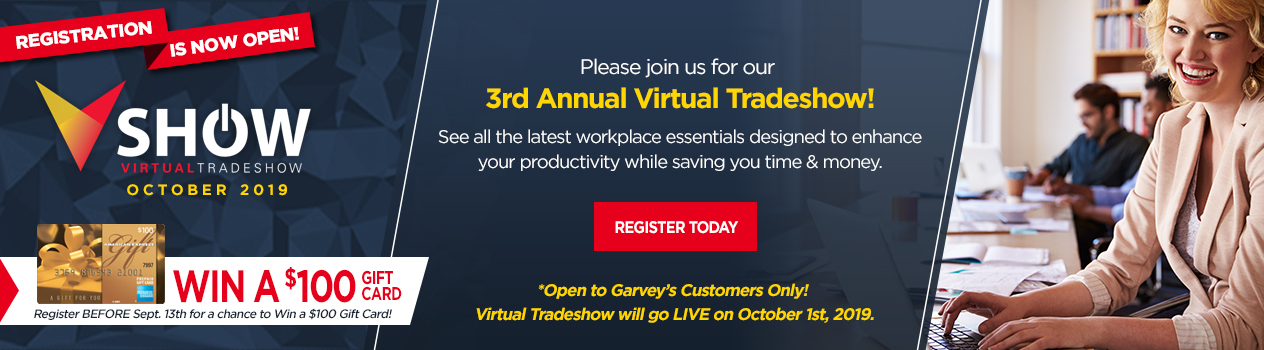Virtual Tradeshow PreRegistration Raffle