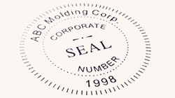 Corporate Seal Stamps