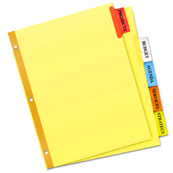 Index Dividers | Garvey's Office Products