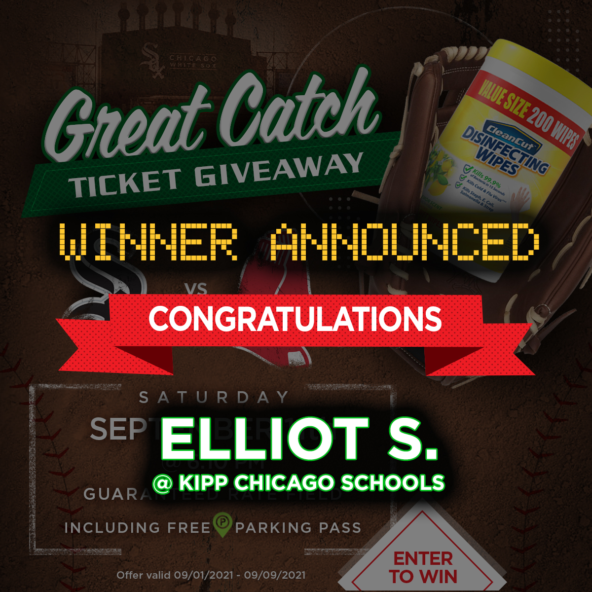 great catch giveaway