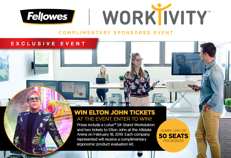 Fellowes Worktivity Event